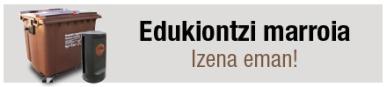 Banner Edukiontzi marroia EUS